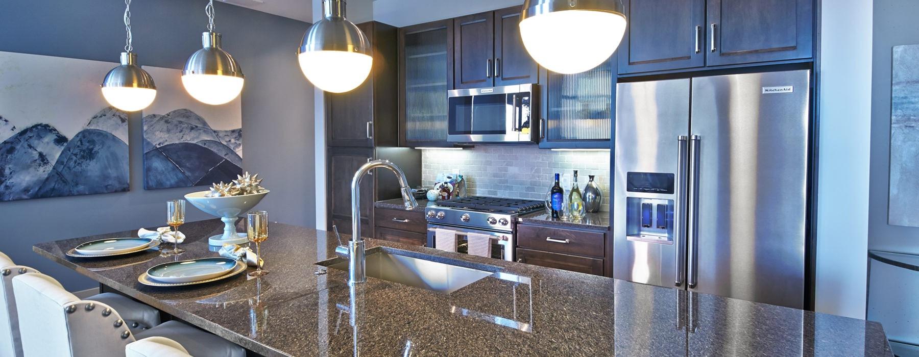 BeautifulFloor Plans of Brady Apartments